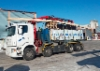 Koukku-Scania puutavaran kuljetuksessa