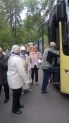 Bussiin nousu Nokialla.