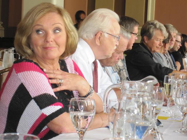 Maaherroja lounaalla 26.8.2011