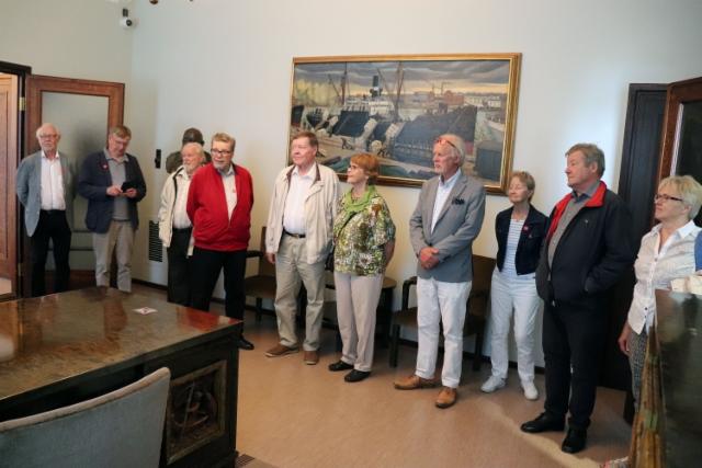 Museokierroksella Gustafissa