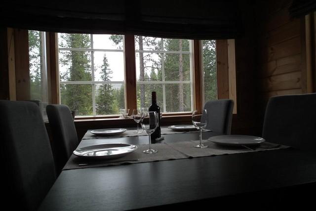 Erkkeri-ikkunasta näkyy Levitunturi / View from big window to fell Levitunturi