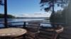 kesämökki järven rannalla Pudasjarvi