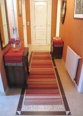 Eteisen matto ja poppanaliinat