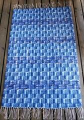 Matilda-matto, sininen tilaustyö