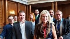 Suuri Valiokunta COSAC-kokouksessa Bulgariassa