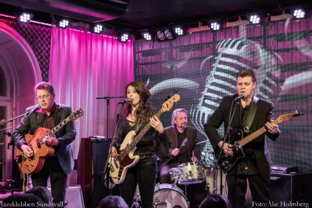 22.2.2018 E Street, Jazzklubben Sundsvall, Sweden