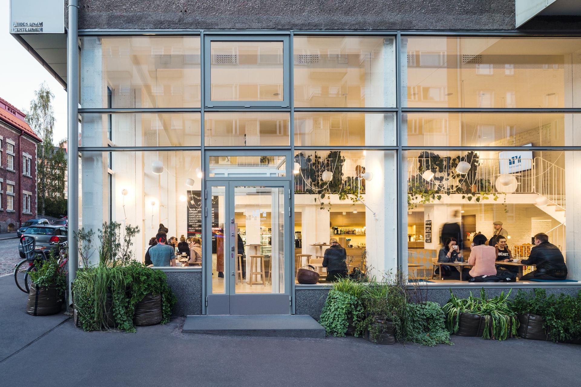 Kahvila Helsinki Keskusta