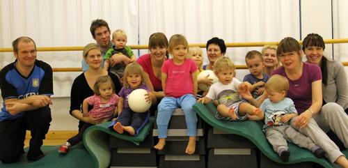 Liikuntaleikkejä 2-3 Vuotiaille