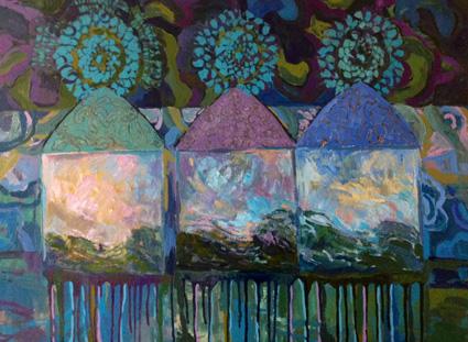 Elämän valinta, oil on canvas, 2014, myyty