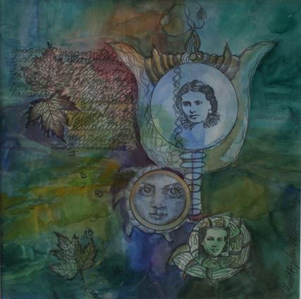 moments 1, akvarelli, myyty