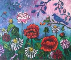 Kesän tuoksuja, värejä ja voimaa