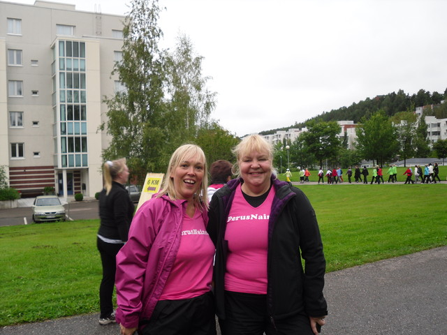 Kunnon Nainen liikuntatapahtuma 2.9.2012