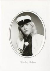 Ylioppilas vuosimallia 1986