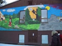 Lasten ja nuorten metsäkoulun päärakennus