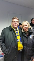 Timo Soini Hämeenlinnassa 28.3.2015