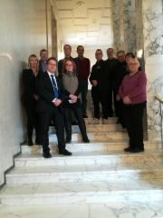 Lahden Perussuomalaiset vierailulla eduskunnassa
