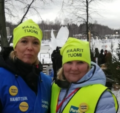Heinolan Jään ja valon juhla 2019