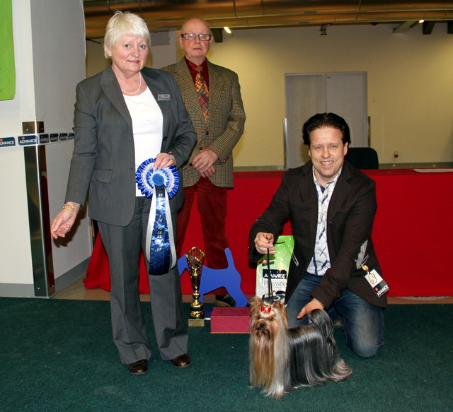 Best In Show 2 place Grazy Angel Of Bregadoon