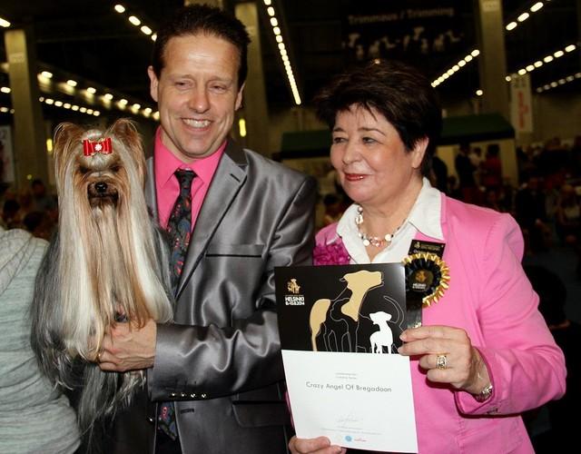 World Winner Dogshow -Maria 4 place