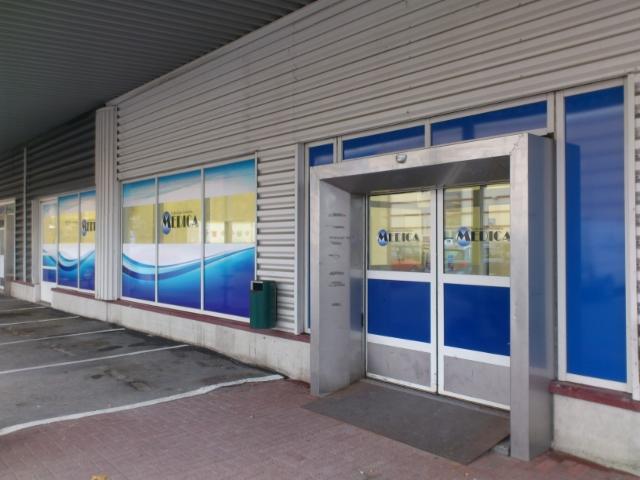 Medica Ahjokeskus ikkunateippaus