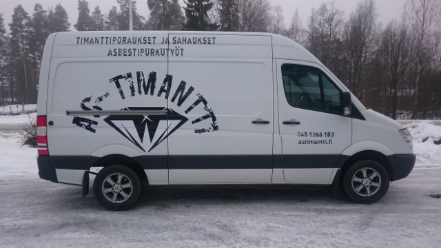 AS-Timantti autoteippaus