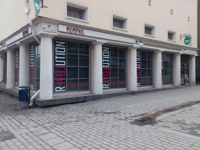 Revolution Jyväskylä ikkunateippaus