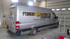 Forest Export autoteippaus