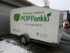POP Pankki peräkärryn mainosteippaus