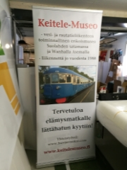 Keitele-Museo roll-up