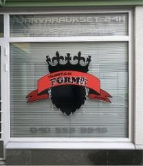 FormUs ikkunateippaus