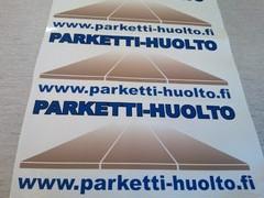 Parketti-huollon logo
