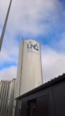 LNG säiliön teippaus