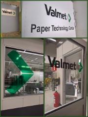 Valmet paper Technologies opasteet ja teippaukset