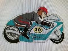 Kilpamoottoripyörä