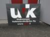 UVK yhteystieto/mainoskyltti