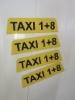 Magneettiset taxikyltit
