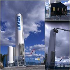 Gasum tankkausasema Lahti