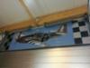 Lentokone aiheinen seinäteippaus