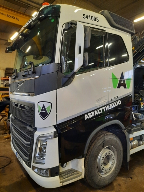 Volvo FH 540 teippaus