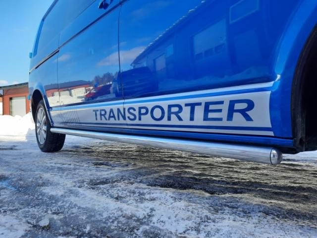 Transporterin teippaus