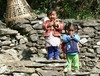 Vuoriston lapsia / Children in the mountain