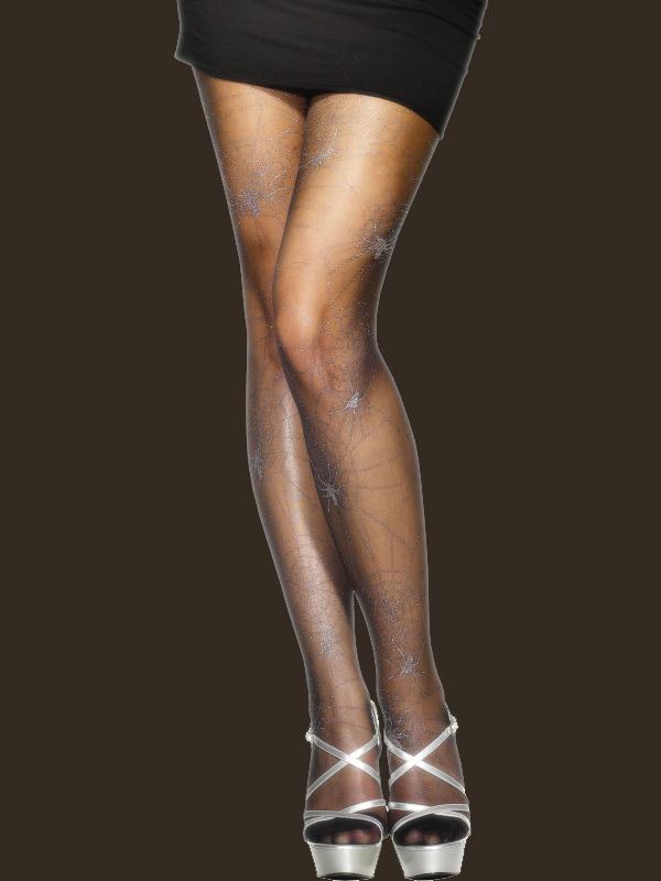 Glitter sukkahousut seittikuviolla  66489ada82