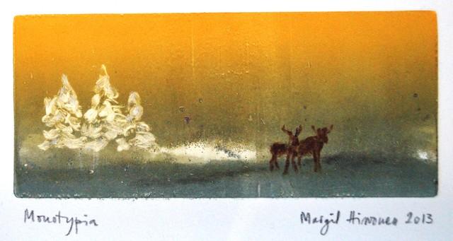 Joulupostikortti, grafiikka