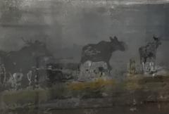 Lauma, 67 x 84 cm, monotypia, 2017