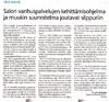 Salon Seudun Sanomat 4.1.2013