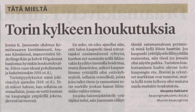 Salon Seudun Sanomat 25.8.2017
