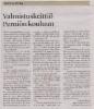 Valmistuskeittiö Perniön kouluun SSS 16.8.2019