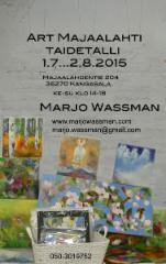 Art Majaalahti 2015 Taidetalli  Kangasala