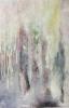 Hiljaiset puut, 2015 öljy kankaalle 48 x 63 cm