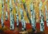 Punainen polku, 2017 öljy kankaalle 85 x 62 cm